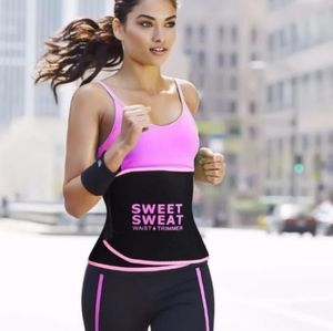 Sweet Sweat Premium Waist Trimmer Belt  Flexible